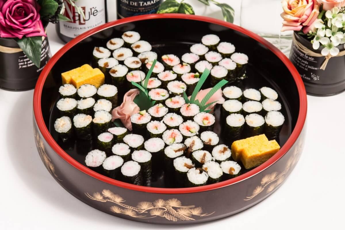 【ビュッフェ・立食】細巻き寿司つき!ベリーベリーの立食お手軽ケータリングプラン画像0