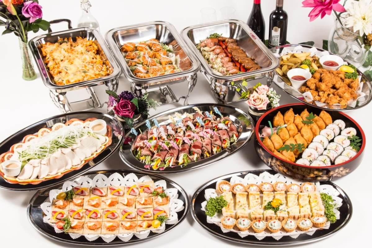 【ビュッフェ・立食】お肉中心!ベリーベリーの立食お手軽ケータリングプラン画像0
