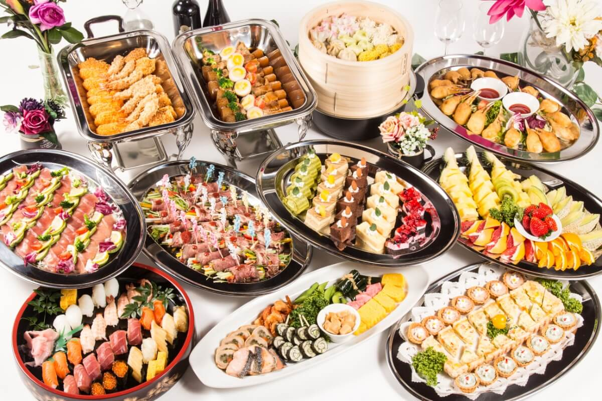 【ボリューム満点】江戸前寿司つき!ベリーベリーの立食スタンダードケータリングプラン画像2