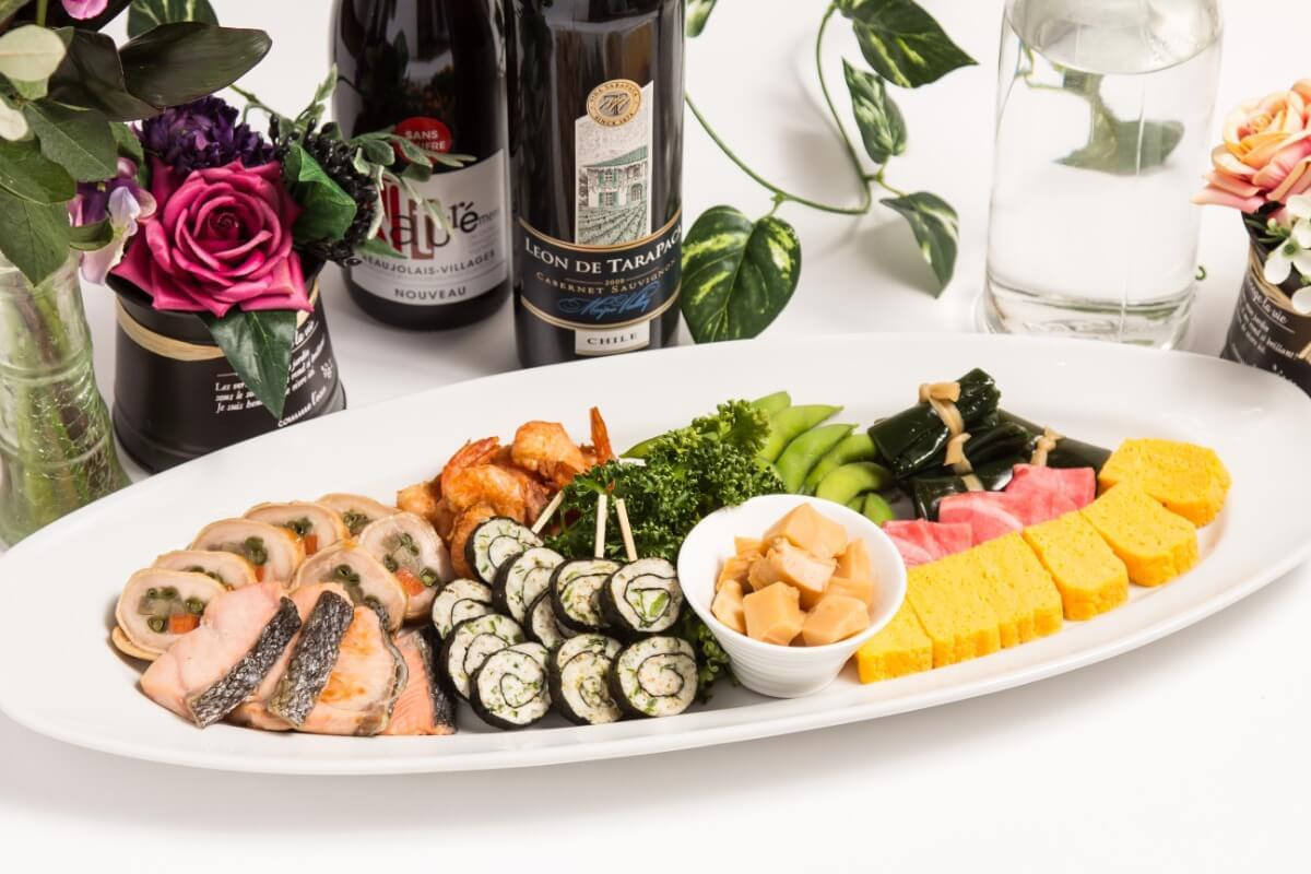 【ボリューム満点】江戸前寿司つき!ベリーベリーの立食スタンダードケータリングプラン画像3