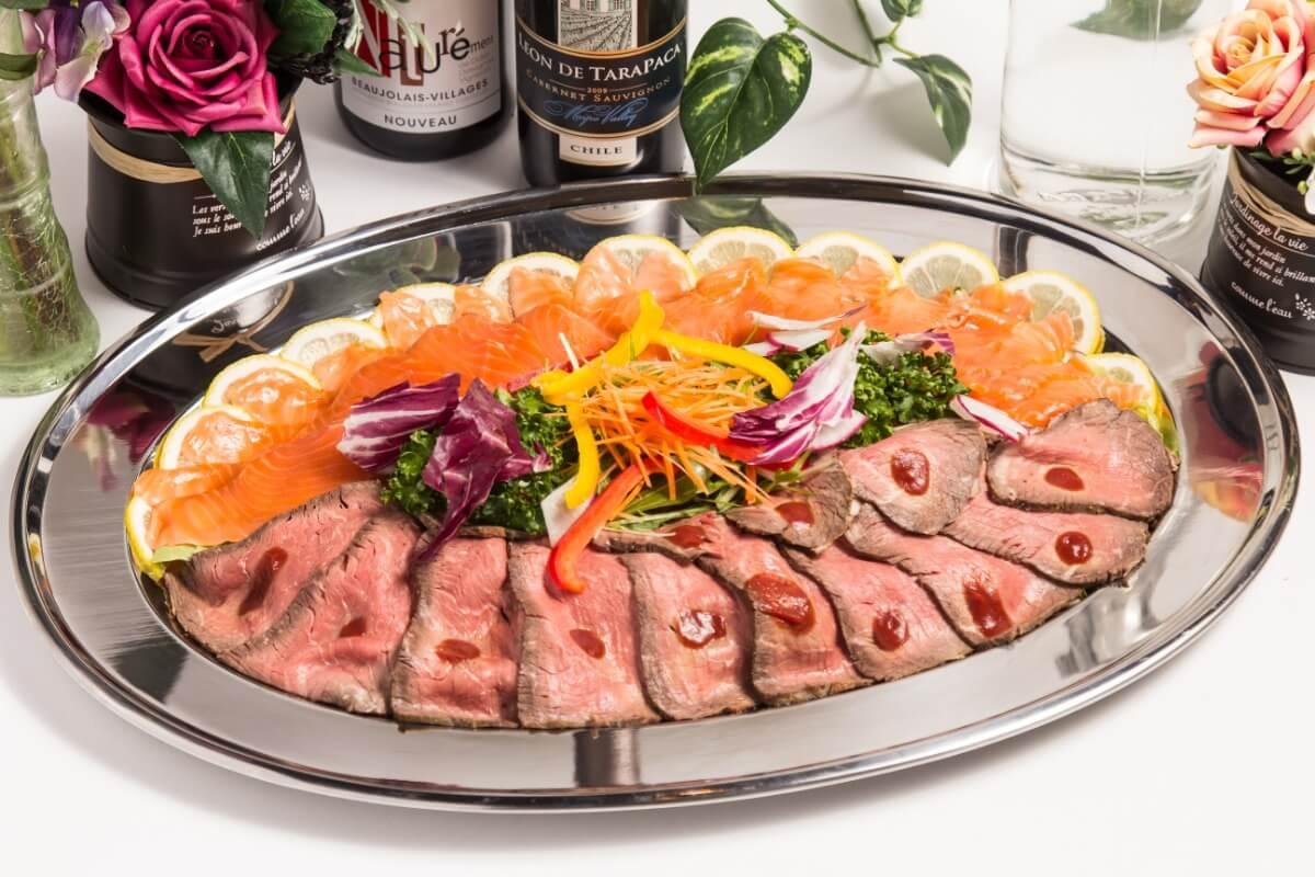 【ボリューム満点】江戸前握り寿司つき!ベリーベリーの本格パーティー向け豪華ケータリングプラン画像3
