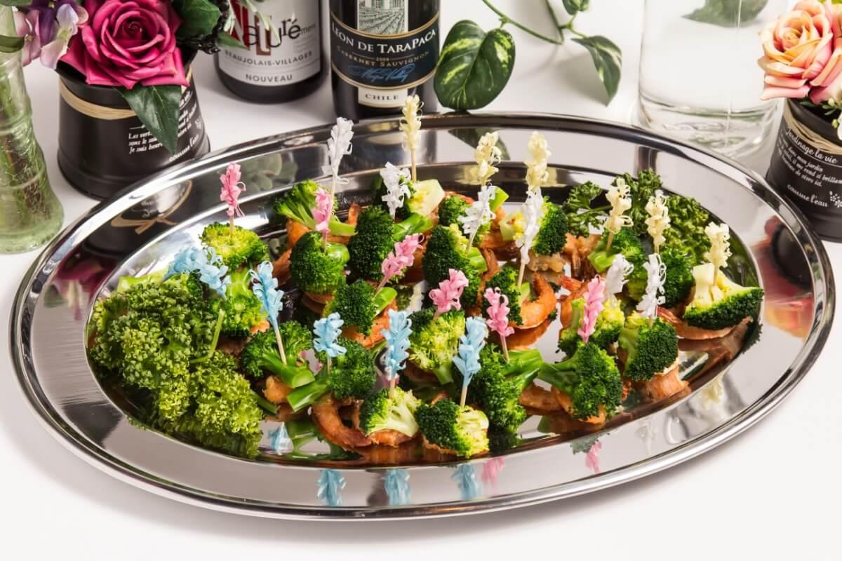 【ボリューム満点】江戸前握り寿司つき!ベリーベリーの本格パーティー向け豪華ケータリングプラン画像5