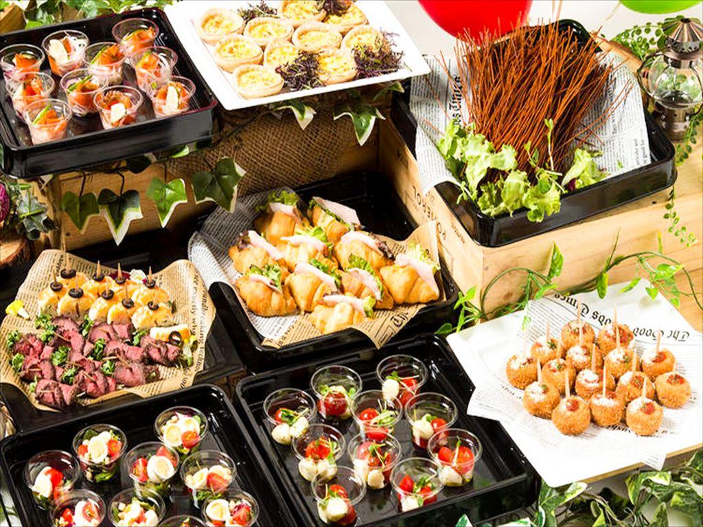 【ビュッフェ・立食】フィンガーフード中心!ネオダイニングの立食スタンダードオードブルプラン画像0