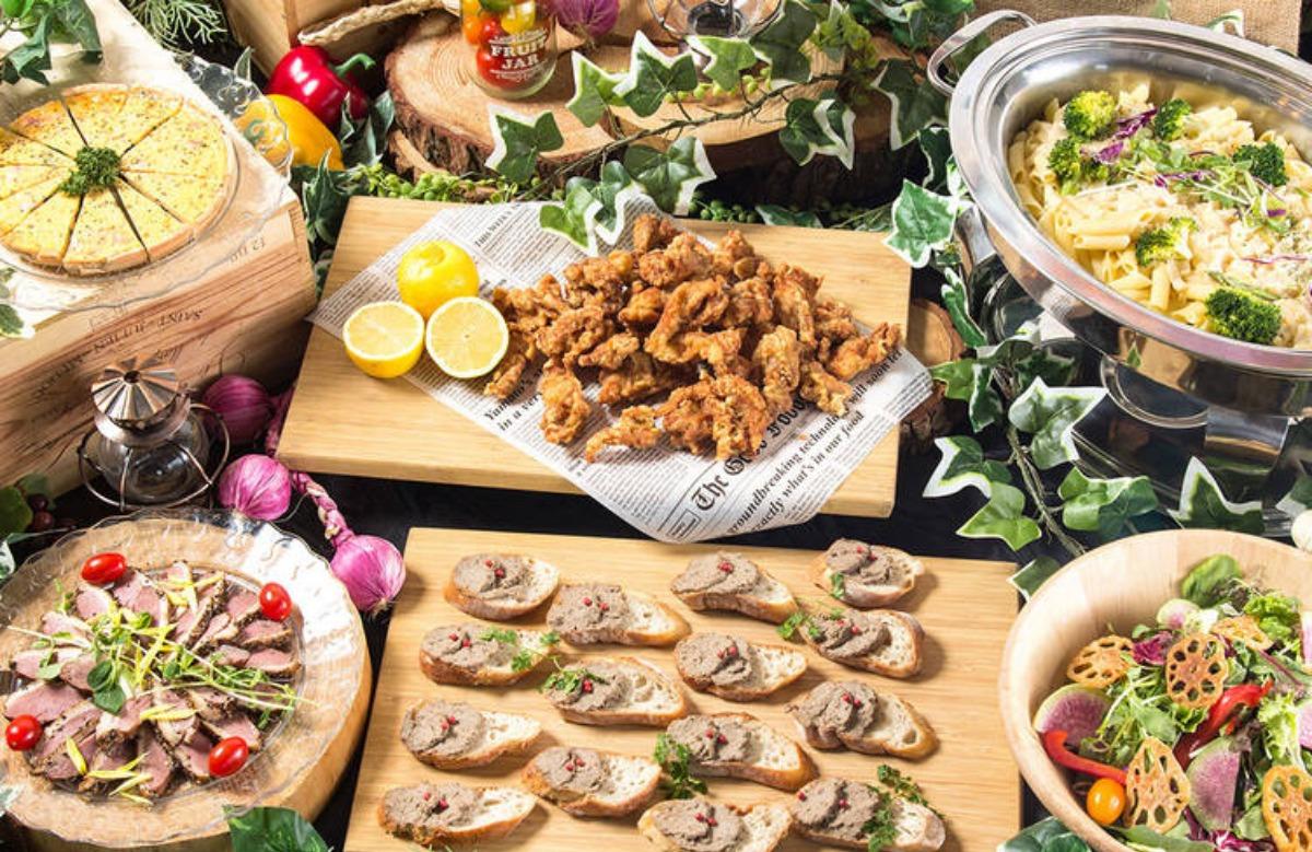 【ビュッフェ・立食】洋食中心!ネオダイニングのおつまみ用お手軽ケータリングプラン画像1