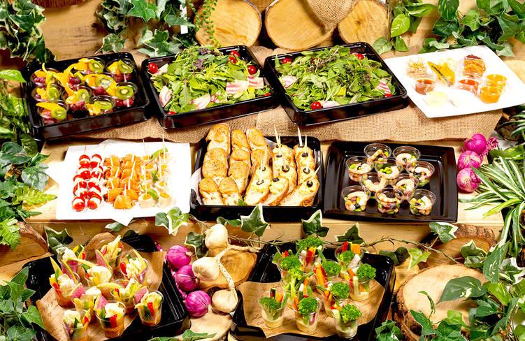 【ロハス&ヘルシー】横浜都筑野菜中心!ネオダイニングの立食スタンダードオードブルプラン画像1